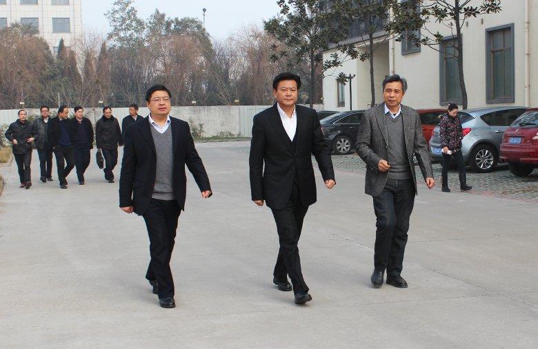 兴化市市长李卫国莅临星火参观指导
