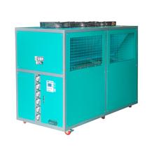 食品行业风冷式低温冷水机30HP