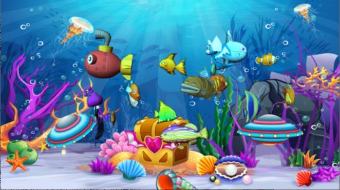口袋屋互动投影设备奇幻海底世界游戏