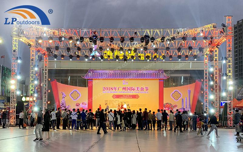 室外大型展示舞台铝合金桁架
