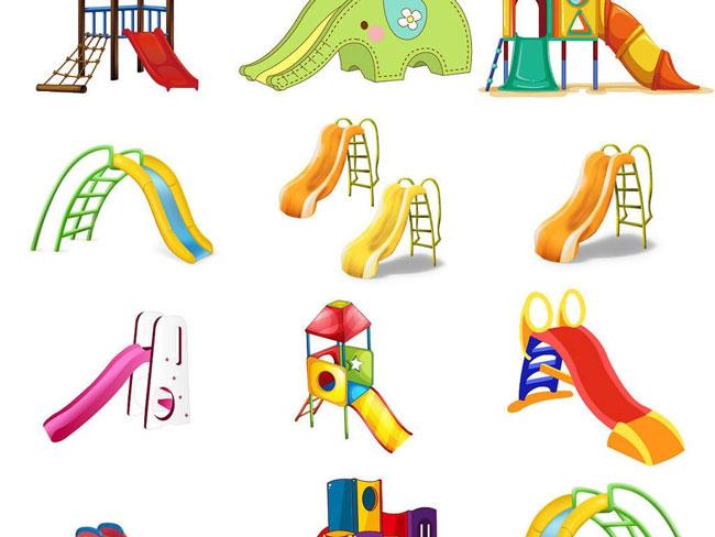 儿童滑梯英文叫children's slide,它只是个简简单单的滑梯,没有融入