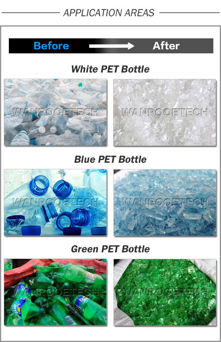 PET bottle washing application