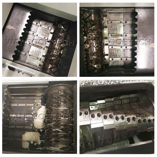 金属撕碎机细节