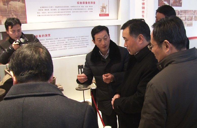 泰州市市长陆志鹏莅临星火参观指导
