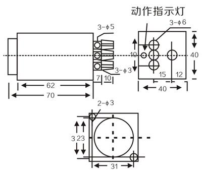 LMF35 Inductive proximity switches sensors