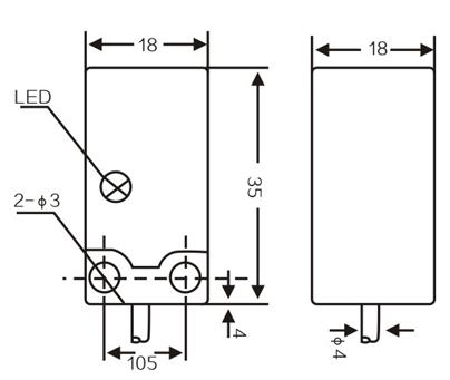 LMF3 Inductive proximity switches sensors