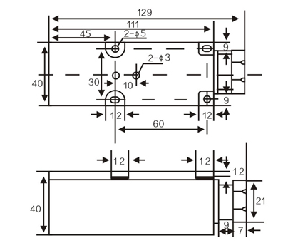 LMF36 Inductive proximity sensors