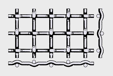 锁压型编织