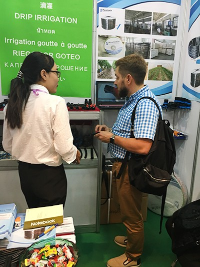 Drip irrigation expet debuts in 120th Canton Fair (2)