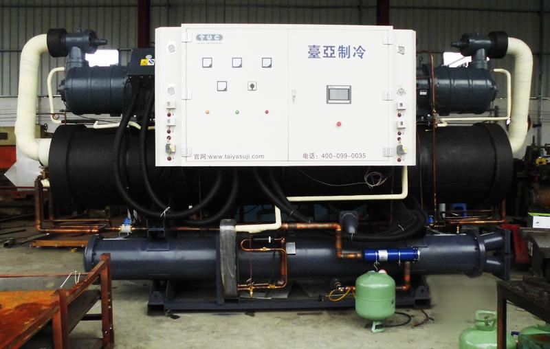 台亚制冷厂家直销日产200T大型冰块制冰系统