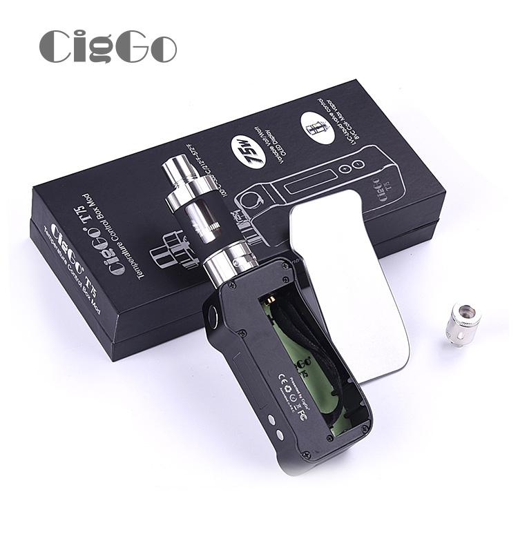 電子煙CigGo 75W大煙霧戒煙神器盒子
