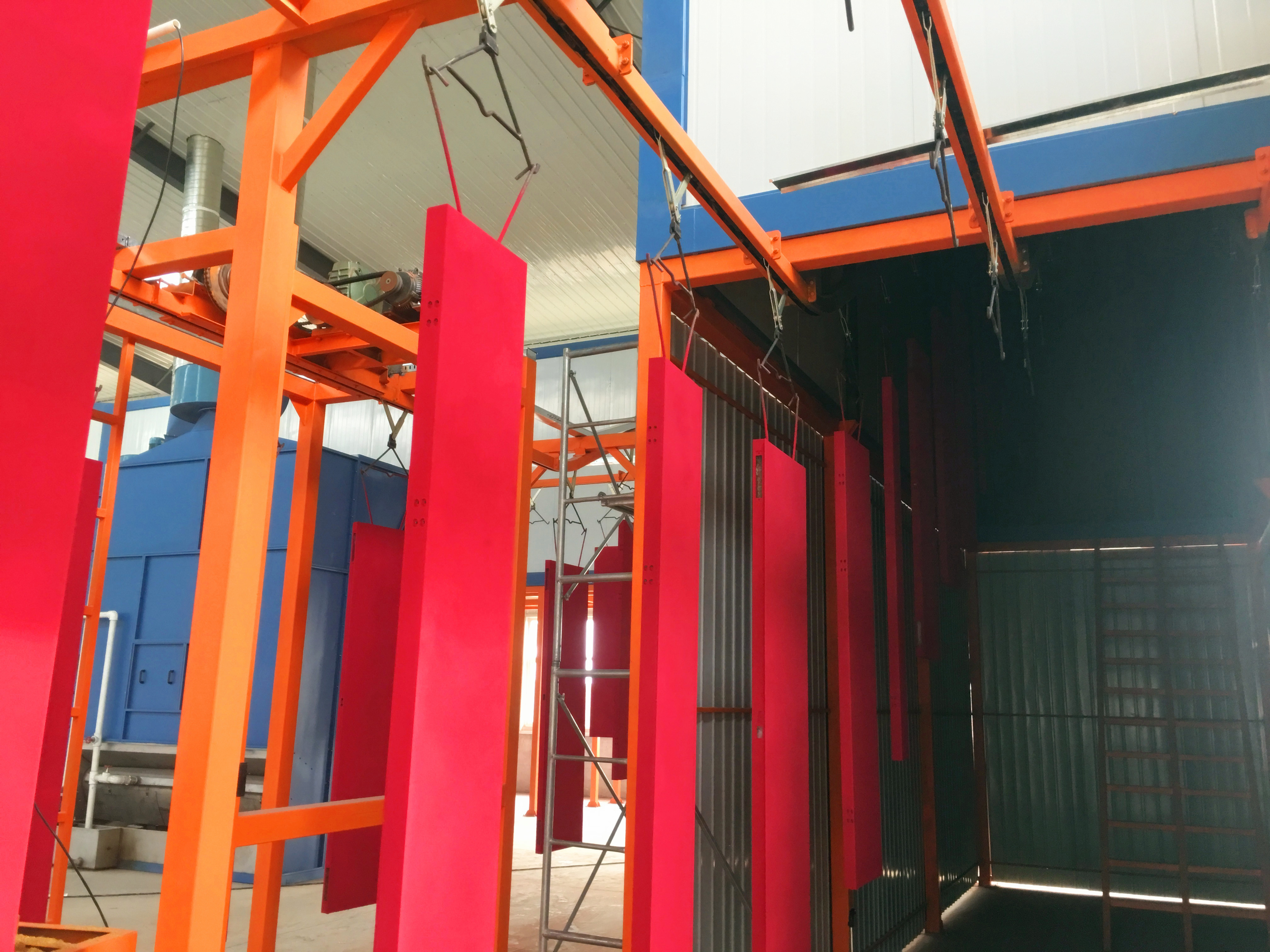 Curing heating system (5)